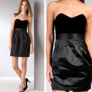 ❤️HP Theory Chanesa Dress Velvet and Satin size 10